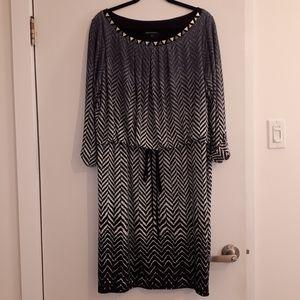 Laura Plus Drawstring Waist Dress